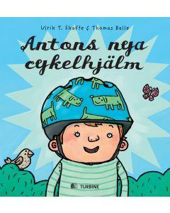 Antons nya cykelhjälm