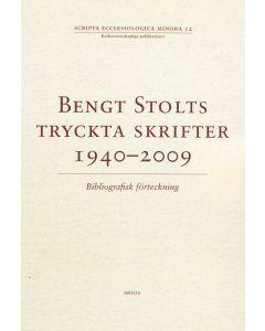 Bengt Stolt tryckta skrifter 1940-2009