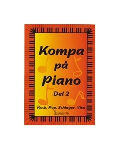 Kompa på piano del 2. Rock, pop, schlager, visa