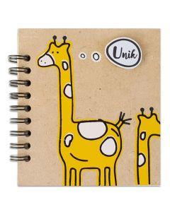Anteckningsblock - Giraff