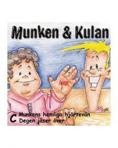 Munken & Kulan C. - Munkens hemliga hjärtevän. Degen jäser över - CD