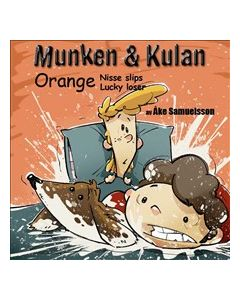 Munken & Kulan Orange - Nisse slips Lucky Loser