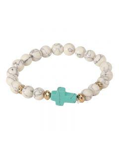 Armband - pärlor med kors