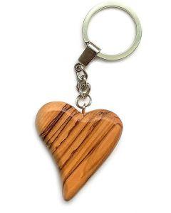 Nyckelring - Hjärta - Fairtrade