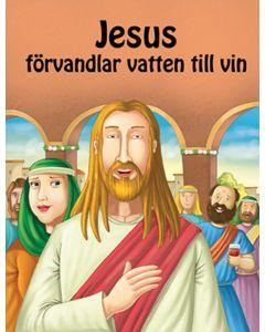 Jesus förvandlar vatten till vin