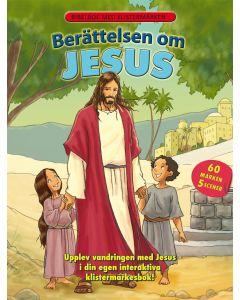 Berättelsen om Jesus Klistermärkesbok