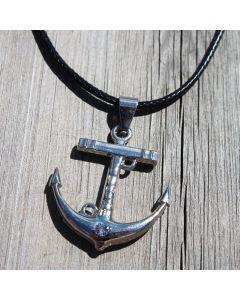 Halsband, ankare, stål