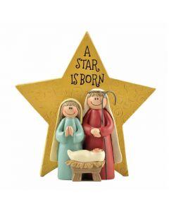 Julkrubba/Stjärna