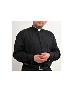 Herr Tonsurskjort svart 39 cm