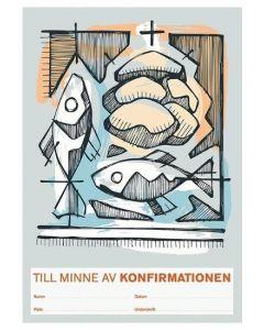 Konfirmandminne - bröd och fisk 1 st