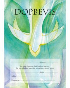 Dopbevis - ande pastor 10st/fp