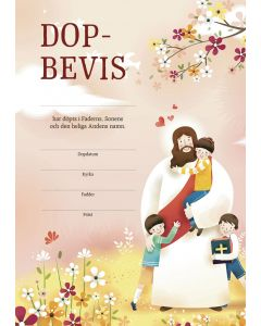 Dopbevis - Jesus 10st/fp