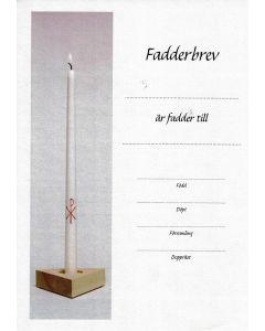 Fadderbrev - Ljus 1 st