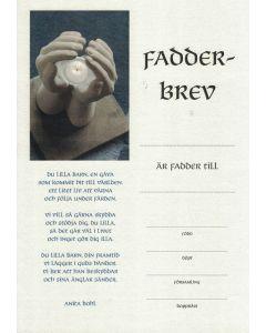 Fadderbrev - Hand 10st/fp
