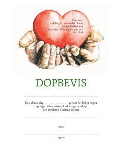 Dopbevis - händer 10st/fp