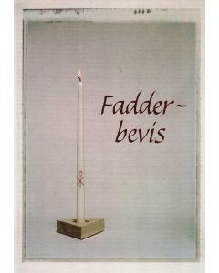 Fadderbevis ljus 1 st