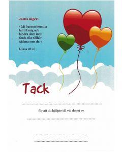 Doptack - ballong 10st/fp