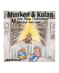Munken och Kulan U. - Som fånge i bibloteket. Otroligt men sant - CD