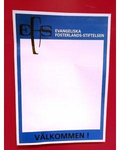 EFS Affischer 50st/fp