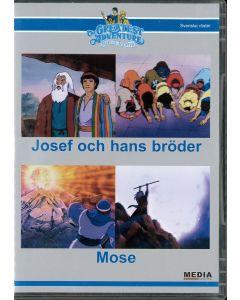 Josef och hans bröder & Mose -  DVD