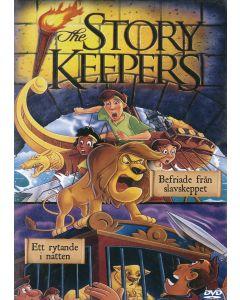 The Story K. -  Befriade från slavskeppet/Ett rytande i natten  - DVD