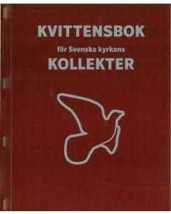 Kvittensbok för kollekter. Duvan