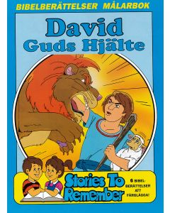 Målarbok David Guds hjälte