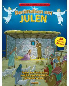 Berättelsen om Julen Klistermärkesbok
