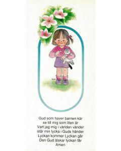 Kort - Gud som haver (flicka)
