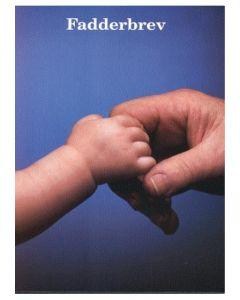 Fadderbrev händer foto 1 st