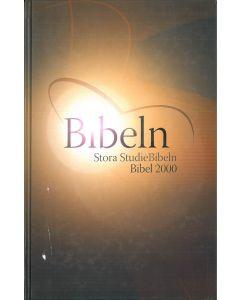 Bibel 2000 Stora studiebibeln hård pärm Corvita