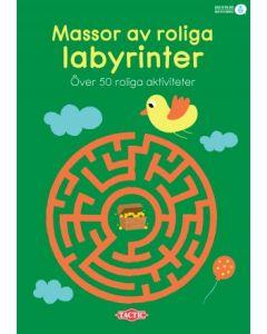 Massor av roliga labyrinter