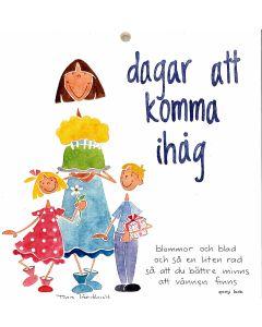 almanacka ej årsbunden Dagar att komma ihåg