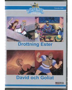 Drottning Ester/David och Goliat - DVD