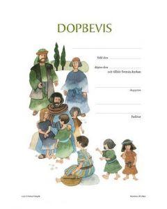 Dopbevis : Bibel för barn 25/fp