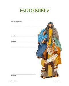 Fadderbrev : Bibel för barn 25/fp