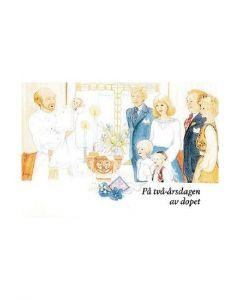 Dopdagshälsning : Fagerberg, 2 år
