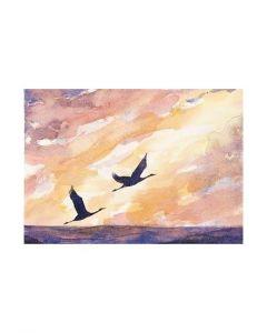 Inbjudan till Minnesgudstjänst Fåglar, 1st