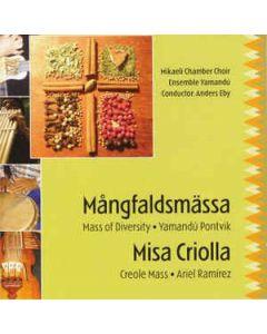 Mångfaldsmässa, Misa Criolla, - CD